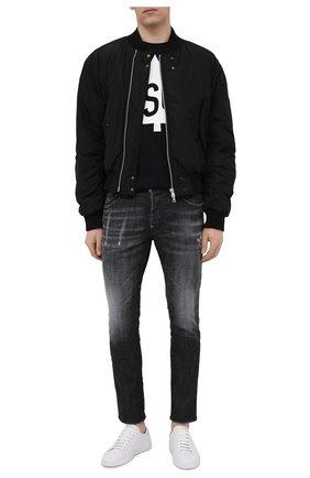 Мужские джинсы DSQUARED2 черного цвета, арт. S74LB0880/S30357 | Фото 2