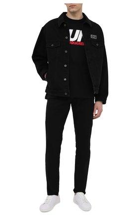 Мужские джинсы DSQUARED2 черного цвета, арт. S74LB0936/S39781 | Фото 2