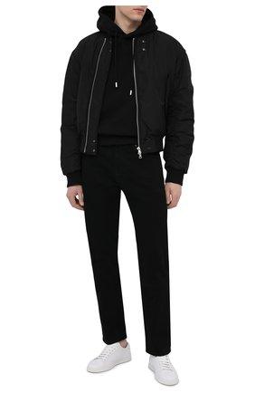 Мужской хлопковое худи DSQUARED2 черного цвета, арт. S79GU0027/S25042 | Фото 2