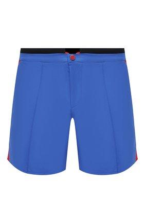 Мужские шорты KITON голубого цвета, арт. UW0946V07T91 | Фото 1