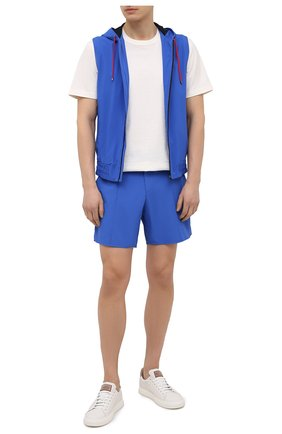 Мужские шорты KITON голубого цвета, арт. UW0946V07T91 | Фото 2