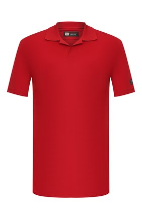 Мужское шерстяное поло Z ZEGNA красного цвета, арт. VW394/ZZT612   Фото 1