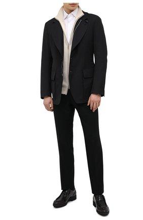Мужская куртка TOM FORD темно-синего цвета, арт. BW005/TF0420 | Фото 2