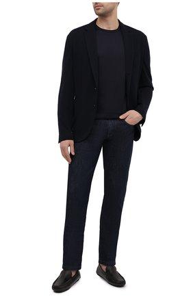 Мужские кожаные мокасины BARRETT коричневого цвета, арт. ASC-9343.16/CERV0 ASP0RTABILE   Фото 2 (Материал внутренний: Натуральная кожа; Стили: Кэжуэл)