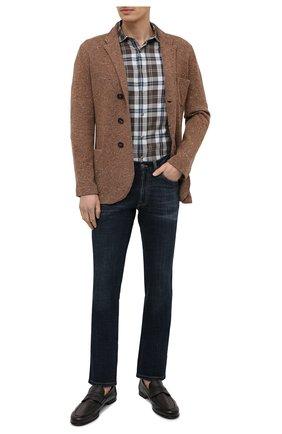 Мужские кожаные пенни-лоферы BARRETT коричневого цвета, арт. B171U064.4/CERV0 ASP0RTABILE | Фото 2 (Стили: Кэжуэл; Материал внутренний: Натуральная кожа; Мужское Кросс-КТ: Лоферы-обувь)