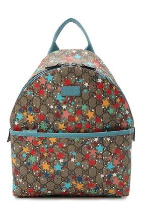 Детская рюкзак GUCCI разноцветного цвета, арт. 271327/2R6AN | Фото 1