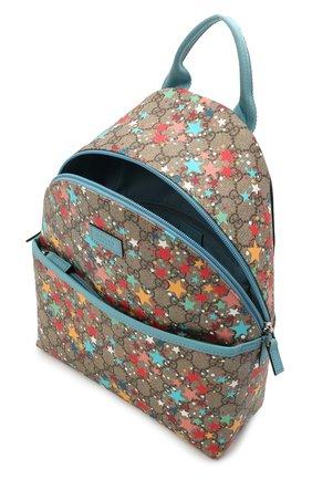 Детская рюкзак GUCCI разноцветного цвета, арт. 271327/2R6AN | Фото 2