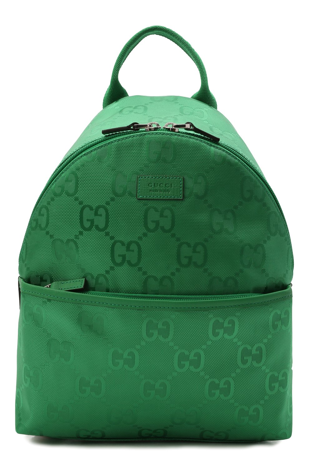 Детская рюкзак GUCCI зеленого цвета, арт. 271327/H9HRN | Фото 1 (Материал: Текстиль)