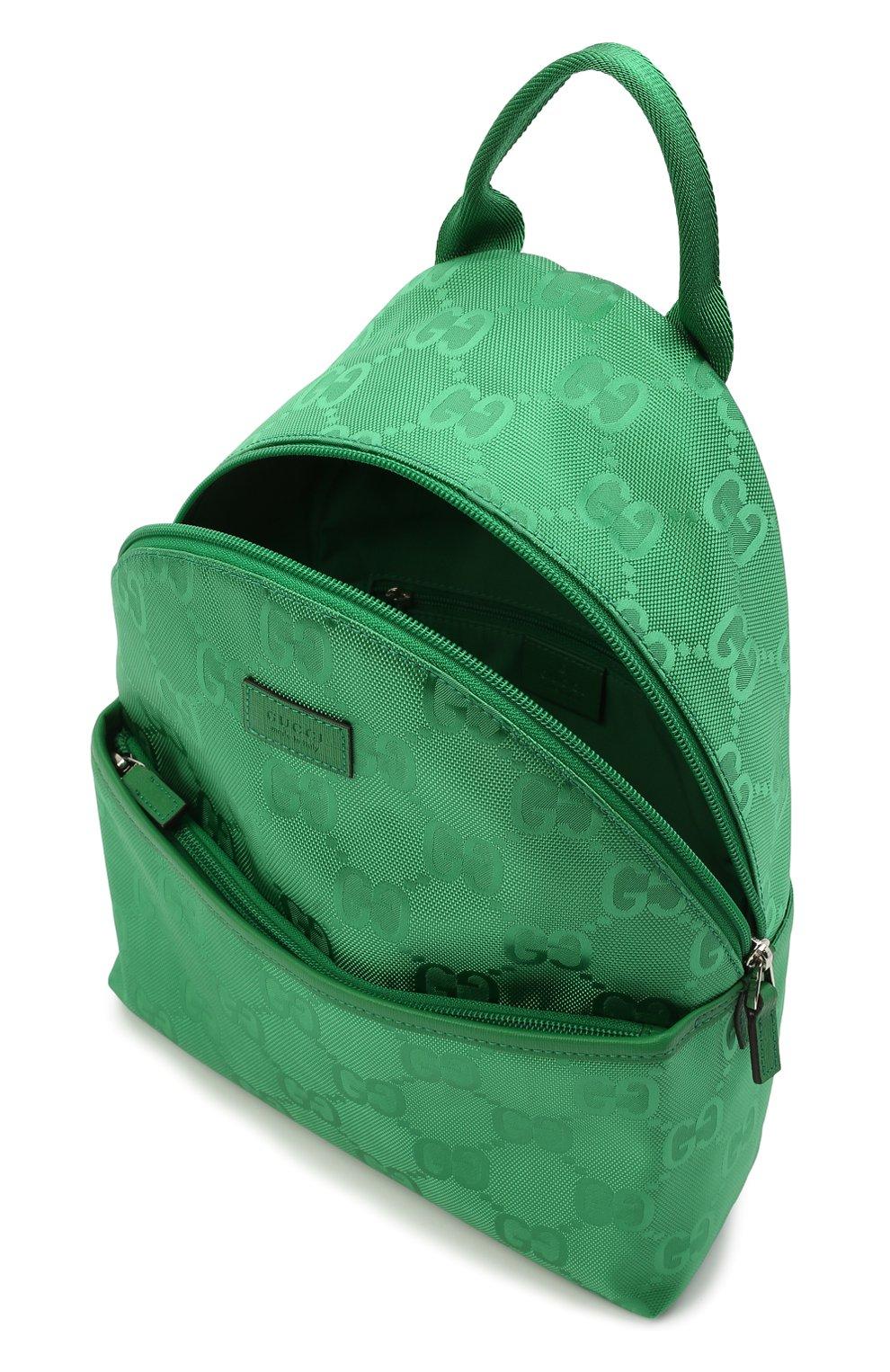 Детская рюкзак GUCCI зеленого цвета, арт. 271327/H9HRN | Фото 2 (Материал: Текстиль)