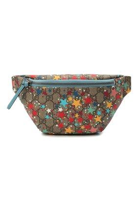 Детская поясная сумка GUCCI разноцветного цвета, арт. 502095/2R7AN | Фото 1