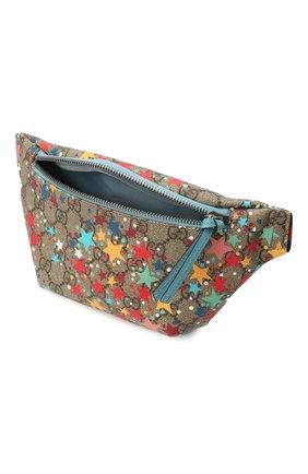 Детская поясная сумка GUCCI разноцветного цвета, арт. 502095/2R7AN | Фото 2
