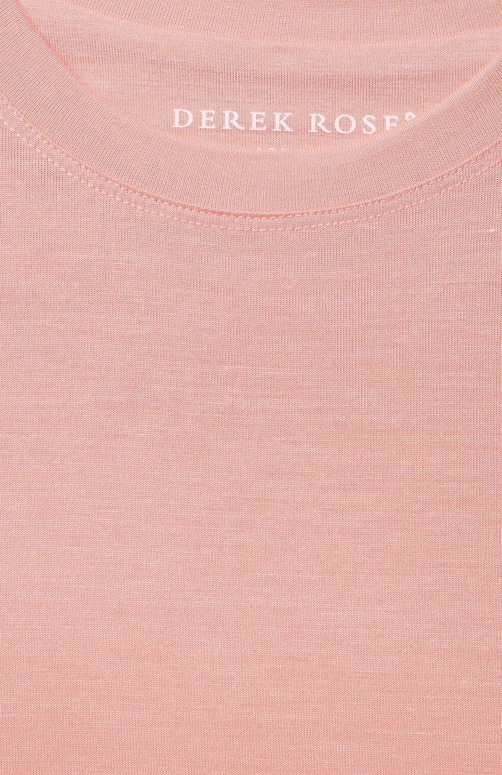 Детская пижама DEREK ROSE оранжевого цвета, арт. 7251-LARA001/13-16   Фото 6