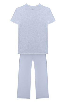 Детская пижама DEREK ROSE голубого цвета, арт. 7251-ETHA001/13-16 | Фото 1