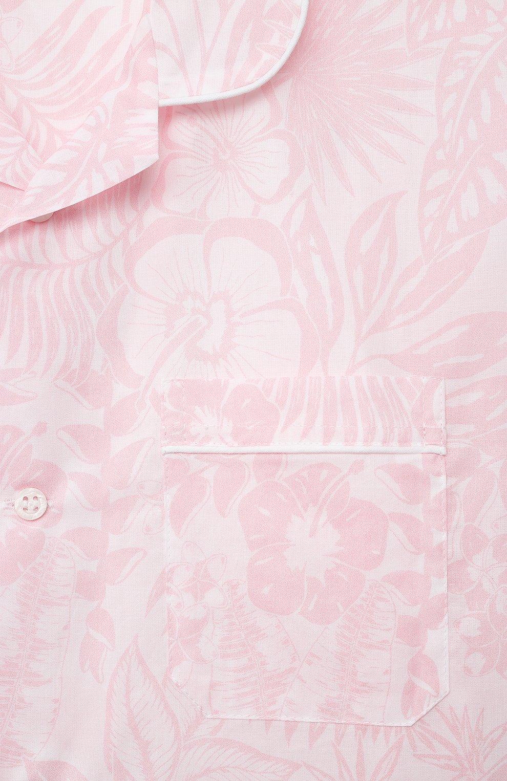 Детская хлопковая пижама DEREK ROSE розового цвета, арт. 7025-LEDB042/3-12 | Фото 7