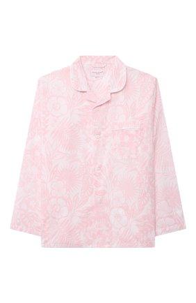 Детская хлопковая пижама DEREK ROSE розового цвета, арт. 7025-LEDB042/13-16 | Фото 2