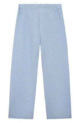 Детская хлопковая пижама DEREK ROSE голубого цвета, арт. 7025-LEDB040/3-12 | Фото 4