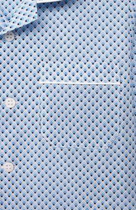 Детская хлопковая пижама DEREK ROSE голубого цвета, арт. 7025-LEDB040/3-12 | Фото 6