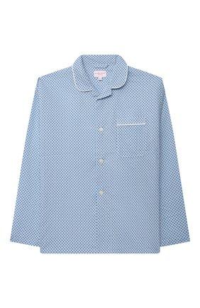 Детская хлопковая пижама DEREK ROSE голубого цвета, арт. 7025-LEDB040/13-16 | Фото 2