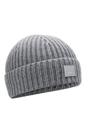 Детского шерстяная шапка ACNE STUDIOS серого цвета, арт. D40006 | Фото 1