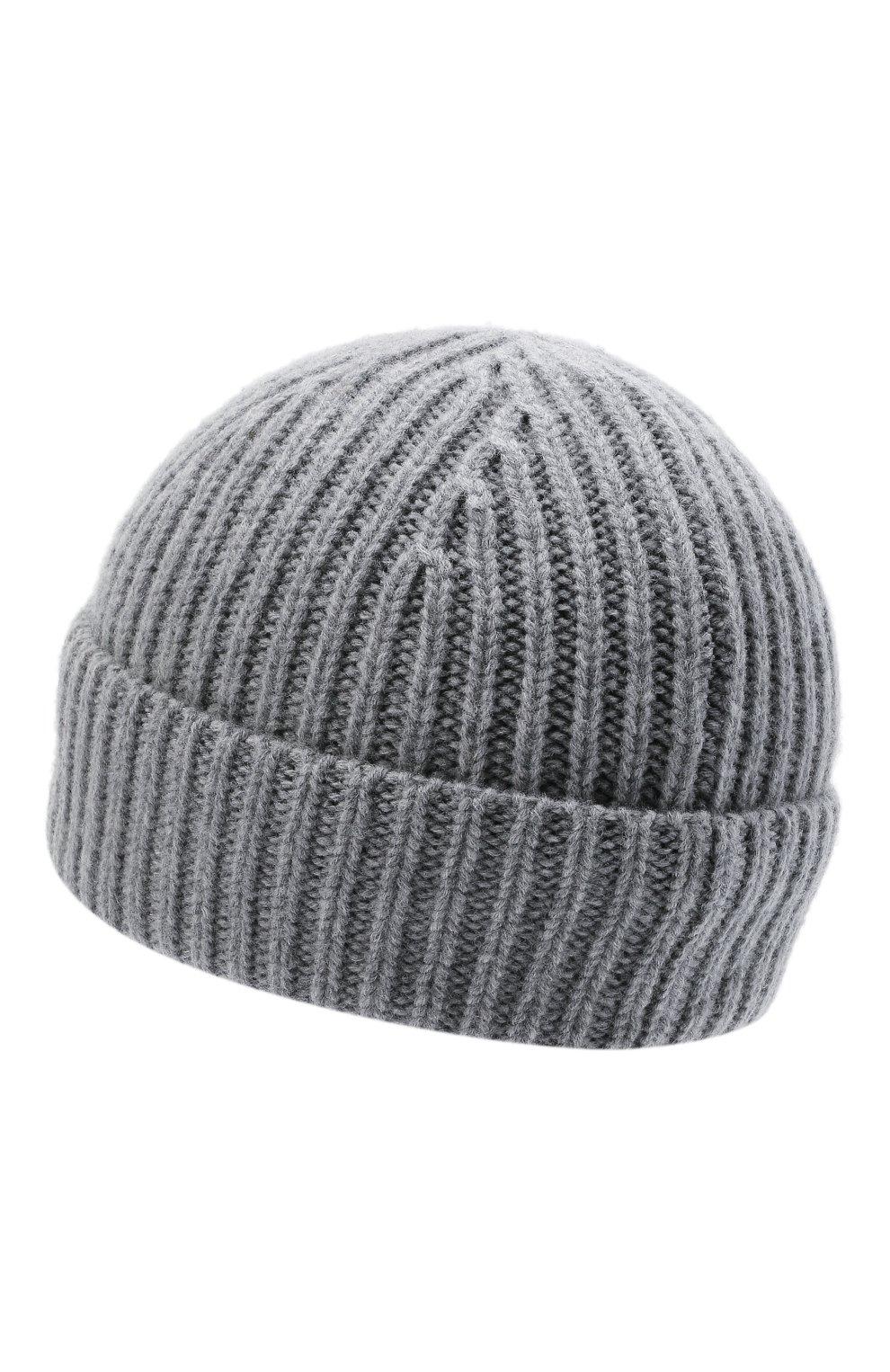 Детского шерстяная шапка ACNE STUDIOS серого цвета, арт. D40006 | Фото 2