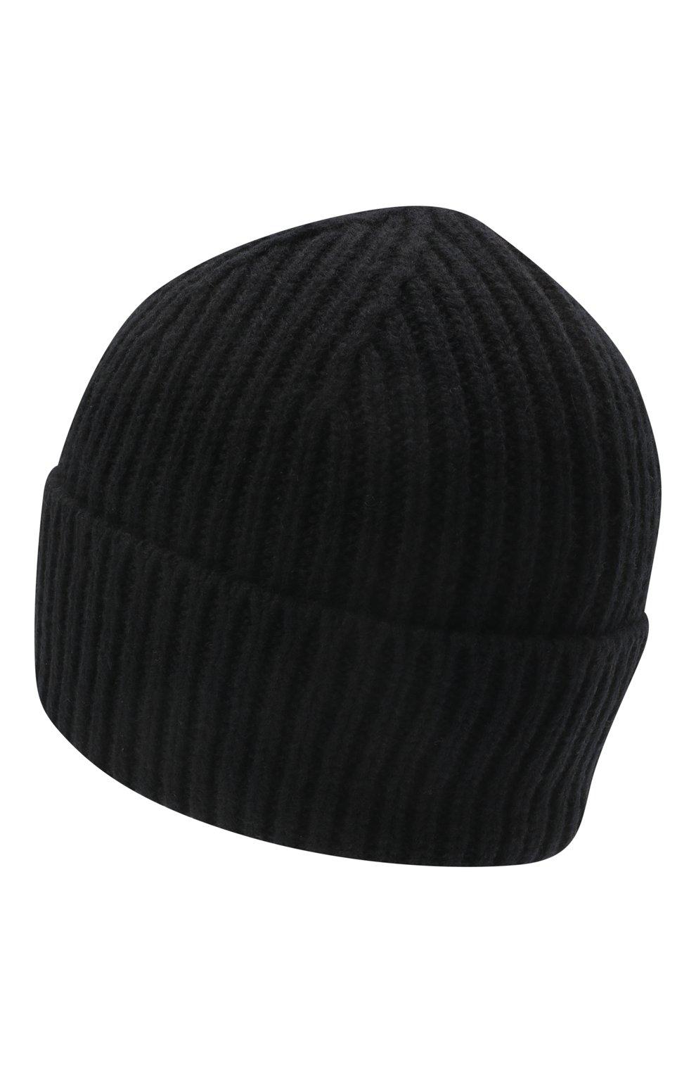 Детского шерстяная шапка ACNE STUDIOS черного цвета, арт. D40006 | Фото 2
