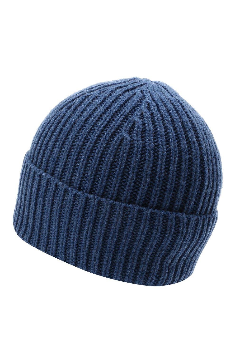 Детского шерстяная шапка ACNE STUDIOS голубого цвета, арт. D40005   Фото 2
