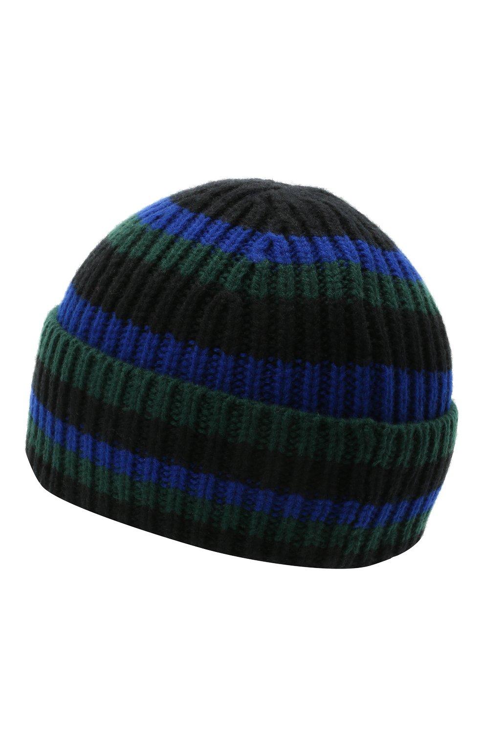 Детского шерстяная шапка ACNE STUDIOS черного цвета, арт. D40004 | Фото 2
