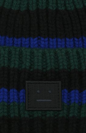 Детского шерстяная шапка ACNE STUDIOS черного цвета, арт. D40004 | Фото 3