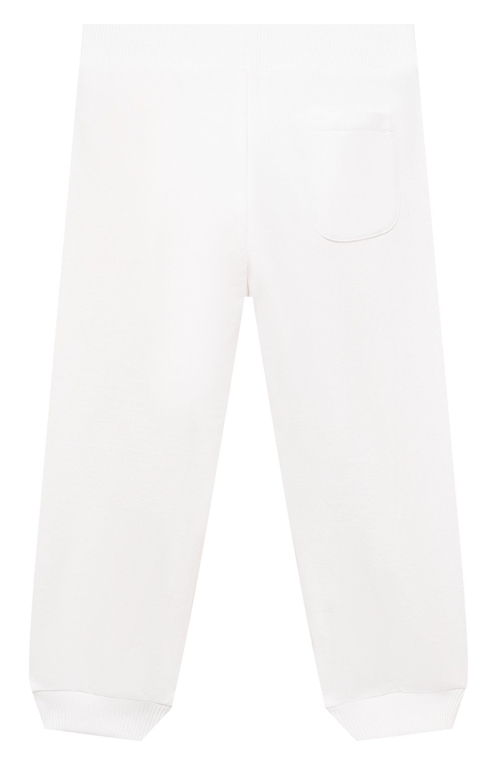 Детский комплект из толстовки и брюк MOSCHINO белого цвета, арт. MTK00G/LDA00 | Фото 5