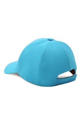 Детская бейсболка LORO PIANA синего цвета, арт. FAE8580 | Фото 2