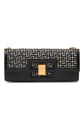Женская сумка BALMAIN черного цвета, арт. VN1S610/TJGH | Фото 1