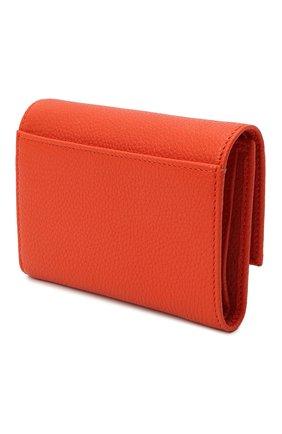 Женские кожаное портмоне DOLCE & GABBANA оранжевого цвета, арт. BI0924/AW737 | Фото 2