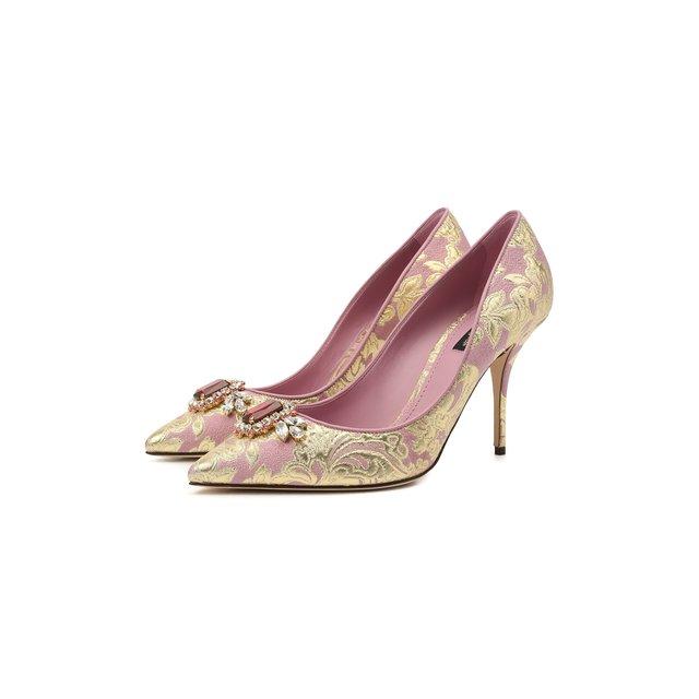 Текстильные туфли Cardinale 90 Dolce & Gabbana