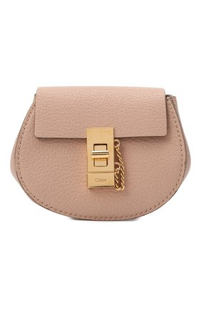 Женский рюкзак drew mini CHLOÉ бежевого цвета, арт. CHC21SP100944 | Фото 1