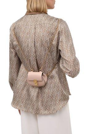Женский рюкзак drew mini CHLOÉ бежевого цвета, арт. CHC21SP100944 | Фото 2