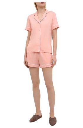 Женская пижама DEREK ROSE светло-розового цвета, арт. 2035-LARA001 | Фото 1