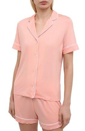 Женская пижама DEREK ROSE светло-розового цвета, арт. 2035-LARA001 | Фото 2