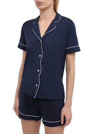 Женская пижама DEREK ROSE синего цвета, арт. 2035-LARA001 | Фото 2