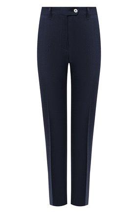 Женские брюки KITON темно-синего цвета, арт. D49109K09T09 | Фото 1
