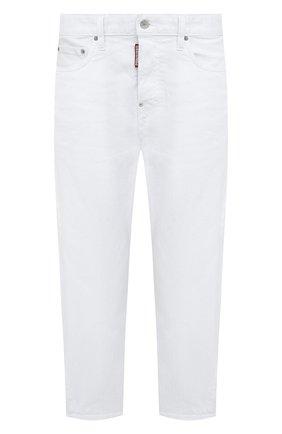 Женские джинсы DSQUARED2 белого цвета, арт. S75LB0467/S39781 | Фото 1
