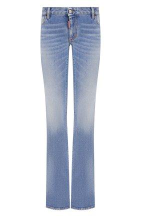Женские джинсы DSQUARED2 голубого цвета, арт. S75LB0483/S30662 | Фото 1