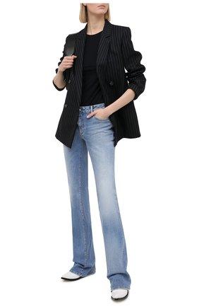 Женские джинсы DSQUARED2 голубого цвета, арт. S75LB0483/S30662 | Фото 2