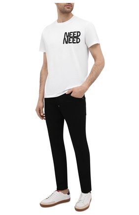 Мужские джинсы DSQUARED2 черного цвета, арт. S74LB0928/S30730 | Фото 2
