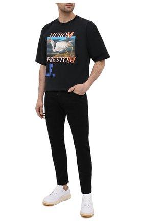 Мужские джинсы DSQUARED2 черного цвета, арт. S74LB0860/STN833 | Фото 2