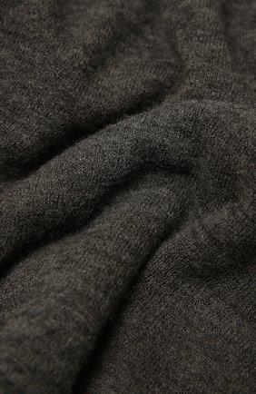 Женский кашемировый шарф helsinki BALMUIR темно-серого цвета, арт. 122102   Фото 2