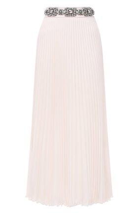 Женская плиссированная юбка CHRISTOPHER KANE белого цвета, арт. BR21 SK1348 P0LY CREPE | Фото 1