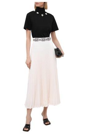 Женская плиссированная юбка CHRISTOPHER KANE белого цвета, арт. BR21 SK1348 P0LY CREPE | Фото 2