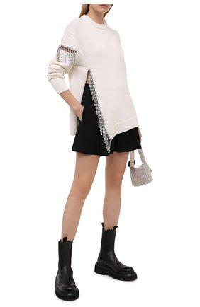 Женский шерстяной свитер CHRISTOPHER KANE белого цвета, арт. BR21 JU581 MERIN0 W00L | Фото 2