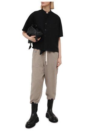 Женские брюки Y`S бежевого цвета, арт. YT-P07-226   Фото 2