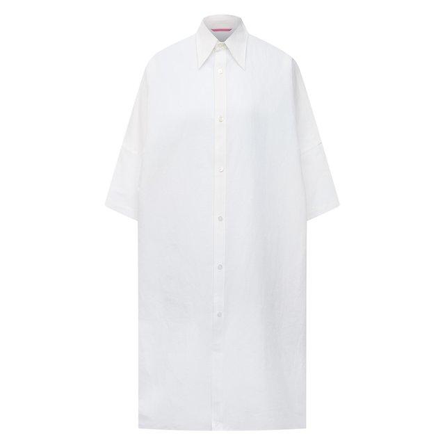 Рубашка из льна и хлопка Y`s